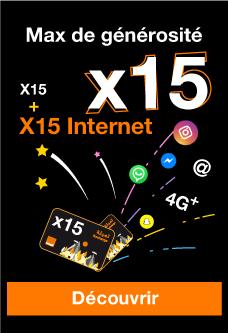 recharge x15 orange