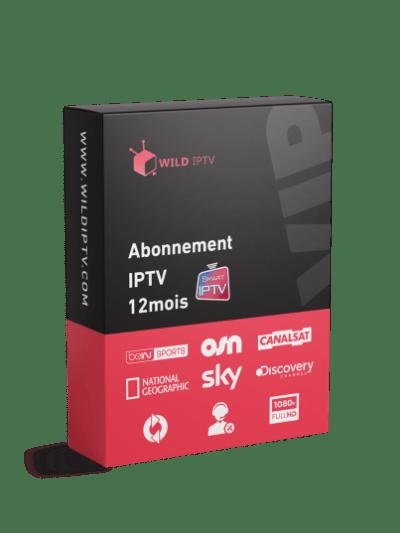 abonnement iptv 12 mois smart iptv maroc