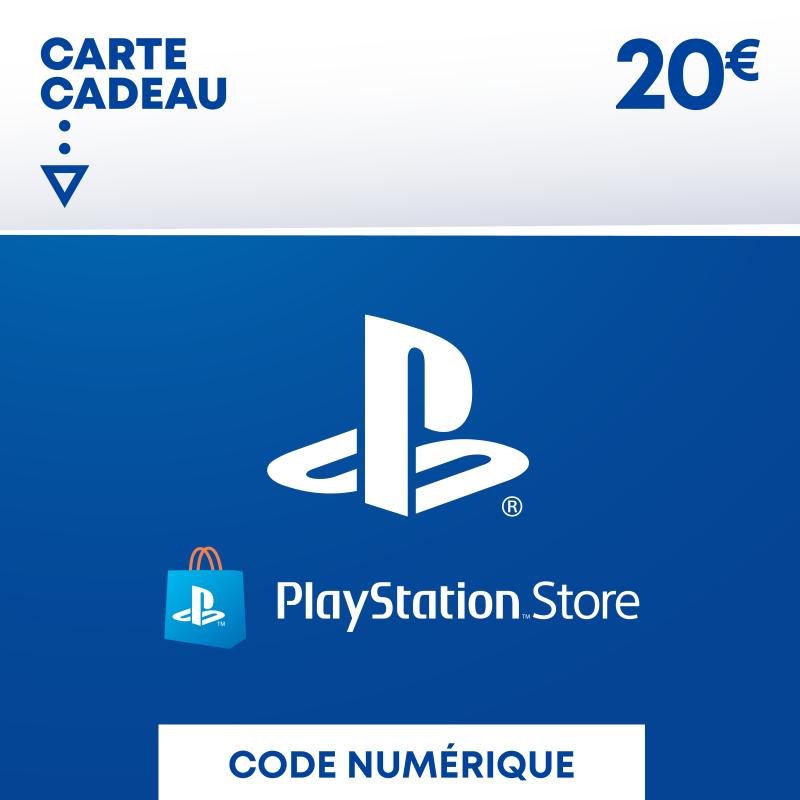 Carte PSN Maroc 20€
